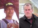 Colten Boushie and Gerald Stanley.