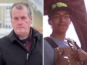 Gerald Stanley and Colten Boushie.