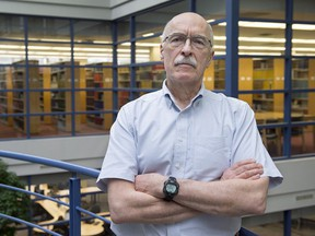 Archie Kaiser, a law professor at Dalhousie University, is seen at the school in Halifax on Friday, Feb. 16, 2018.