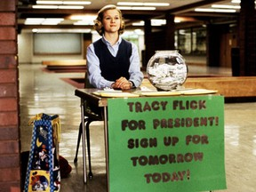Flawless Reese Witherspoon as the flawless Tracy Flick.