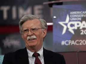John Bolton speaks at the American Conservative Union's  annual Conservative Political Action Conference on Feb. 22, 2018, in National Harbor, Md.
