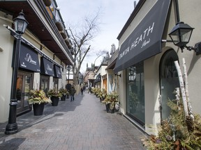 Alleyways such as Old York Lane add to the charm of Yorkville.