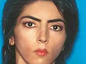 This undated photo obtained April 4, 2018 courtesy of the San Bruno Police Department shows shooting suspect Nasim Najafi Aghdam. Gunfire erupted at YouTube's offices in California April 3, 2018, leaving three people wounded and sparking a panicked escape before the suspected shooter -- a woman -- apparently committed suicide.
