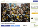 The GoFundMe campaign  is believed to be the largest in Canadian history