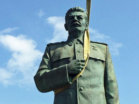 """The eBay seller of this """"perfect condition"""" Stalin statue says it was auctioned off by the Czech town of Litomerice """"many years ago."""""""