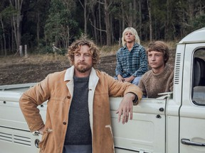 Actor Simon Baker (TV's The Mentalist) does triple duty here as first-time director, co-writer (adapting a 2008 novel by Tim Winton, who also narrates) and co-star. He plays Sando, a slightly washed-up surfer living in Western Australia in the mid-1970s.