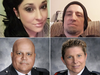 Fredericton shooting victims, clockwise from top left: Bobbie Lee Wright, Donnie Robichaud, Const. Sara Burns, and Const. Robb Costello.