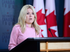 Conservative MP Michelle Rempel, Shadow Minister for Immigration, holds a press conference on Aug. 22, 2018.