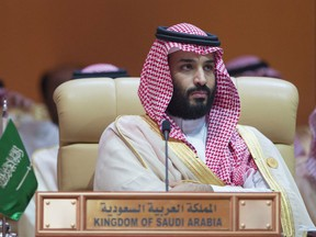 """Crown Prince Mohammed bin Salman recently went on a global tour touting proposed economic reforms and promoting his vision for the kingdom as """"the next Europe."""""""