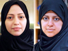 """Women's rights activists Samar Badawi, left, and Nassima al-Sadah were arrested last week in what human rights organizations have called an """"unprecedented"""" crackdown."""