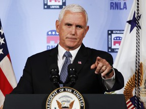 Vice President Mike Pence has denied being the author of the 'resistance' op-ed. Linguists contacted by the National Post suspect the true author may have inserted the word 'lodestar' specifically to annoy Pence.