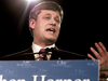 """Stephen Harper launches his campaign for the leadership of the Conservative Party of Canada on Jan. 12, 2004. """"The Postwas a real ally for those of us who ultimately brought about conservative unity,"""" Harper writes below."""