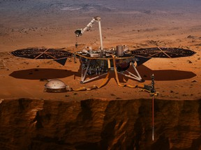 InSight, short for Interior Exploration using Seismic Investigations, Geodesy and Heat Transport, is scheduled to arrive at the planet on Monday, Nov. 26, 2018.