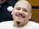 Convicted police killer Luis Bracamontes features in a Trump election ad that has been deemed by some to be offensive and racist.