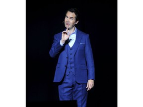 Jimmy Carr attends the 12th annual Stand Up For Heroes benefit concert at the Hulu Theater at Madison Square Garden on Monday, Nov. 5, 2018, in New York.