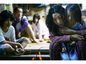 "This image released by Magnolia Pictures shows a scene from ""Shoplifters."" (Magnolia Pictures via AP)"