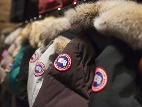 Canada Goose's parkas sell for 9,000 yuan or US$1,300.