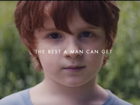 A still from Gillette's latest ad is drawing ire from men on the internet.