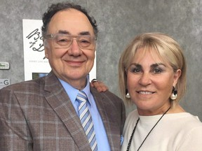 Barry and Honey Sherman.