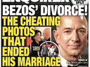 The front page of the Jan. 28, 2019 edition of the National Enquirer featuring a story about Amazon CEO Jeff Bezos' divorce.
