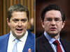 Trudeau targets: Conservative leader Andrew Scheer and finance critic Pierre Poilievre.