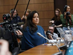 Jody Wilson-Raybould, Canada's former attorney general, arrives to testify before the House of Commons justice committee on Parliament Hill in Ottawa, Ontario, Canada, on Wednesday, Feb. 27, 2019.