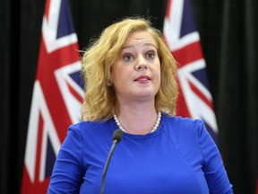 Lisa MacLeod, Minister of Children, Community and Social Services announces the Ontario government making changes to controversial autism program at Queen's Park in Toronto on Thursday March 21, 2019.