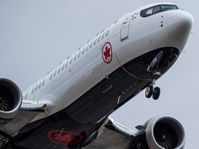 Two Canadian airlines dealing with the grounding of Boeing Max 8 jets say they have re-assigned other planes to accommodate travellers returning home from March Break vacations.