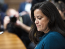 Jody Wilson-Raybould appears before the House of Commons Justice Committee on Feb. 27, 2019.