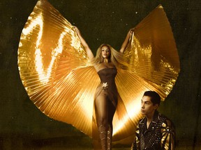 "This cover image released by Interscope Records shows ""Cosmic Wind"" by Lion Babe. (Interscope Records via AP)"