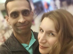 Dr. Mohammed Shamji and Dr. Elana Fric-Shamji are shown in this image from Fric-Shamji's facebook page.