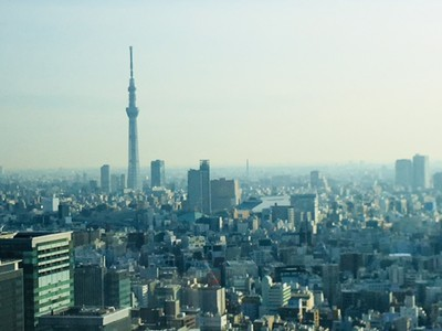 The Tokyo Skytree is the tallest building in the city at 634 metres.