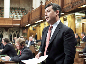 MP Michael Chong in the House of Commons in 2014. His efforts to empower MPs may not just have been useless, but harmful.