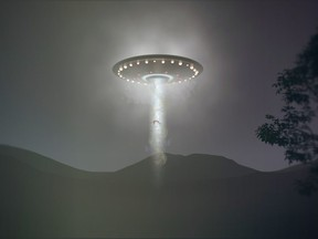 An illustration of a UFO. The U.S. navy has sent out new classified guidance for how to report what the military calls unexplained aerial phenomena, or unidentified flying objects.