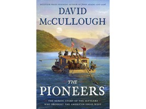 """This cover image released by Simon & Schuster shows """"The Pioneers: The Heroic Story of the Settlers Who Brought the American Ideal West,"""" by David McCullough. (Simon & Schuster via AP)"""