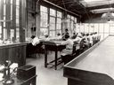 Radium Girls work in a U.S. Radium Corporation factory, circa 1922.