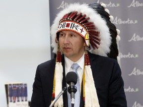 Iron Coalition, co-led by Chief Tony Alexis (pictured) of the Alexis Nakota Sioux Nation, is urging all First Nations and Métis communities in Alberta to sign an exclusivity agreement to join its bid to secure ownership of the pipeline.