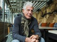 Anthony Bourdain poses for a photo in Toronto, Ont.  on Monday October 31, 2016.