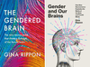 The British cover for Gina Rippon's new book, left, and the North American version.