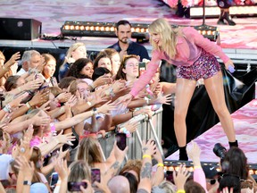 Taylor Swift performs on ABC's 'Good Morning America' at SummerStage at Rumsey Playfield, Central Park on August 22, 2019 in New York City.
