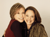 Mary Tyler Moore, left and Valerie Harper reprised their roles as Mary Richards and Rhoda Morgenstern in 2000 for the TV movie Mary and Rhoda.