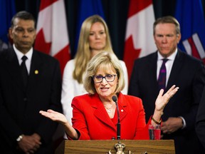 Janice MacKinnon, a former Saskatchewan finance minister, and chair of a blue-ribbon panel announced to examined the Alberta government's financial situation in May.