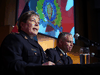 RCMP Commissioner Brenda Lucki provides an update on the ongoing investigation, arrest and charges against Cameron Ortis at RCMP National Headquarters in Ottawa on Sept. 17, 2019.