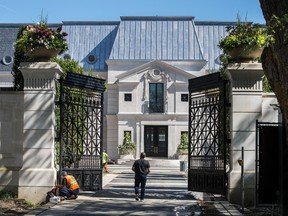 Musician Drake's newly built home located at Toronto's 21 Park Lane Circle, Tuesday September 17, 2019.