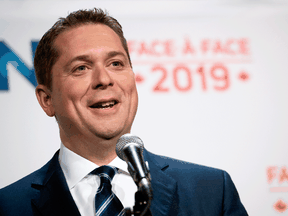 Conservative Leader Andrew Scheer has said he let his passport expire and met U.S. consular officials in August to begin the paperwork to renounce his American citizenship.