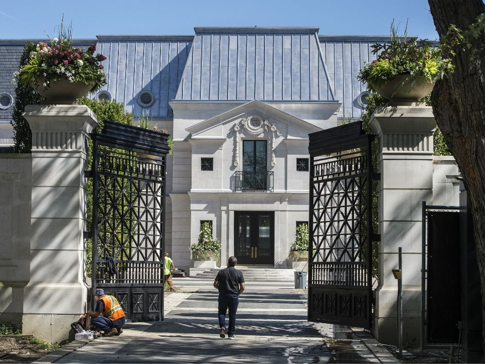 Bridle Path Mansions Celebrities With Toronto Real Estate National Post