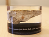 A piece of the Berlin Wall, encased in resin, that was given to Ottawa Mayor Jim Watson.