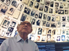 Holocaust survivor Maxwell Smart in the Hall of Names at Yad Vashem WorldHolocaust Remembrance Centre in Israel.