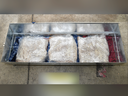 A shipment of 645 kilos of ecstasy was found hidden in the false bottoms of barbecues which led to the arrest of a Canadian man, accused of being a representative of a transnational organized crime syndicate.