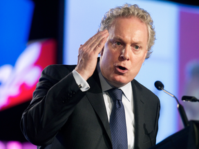 Jean Charest, seen here in a 2012 photo, is a veteran of an era when politicians actually tried to do big, risky, different, career-threatening things.
